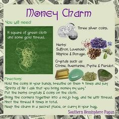 Money Spells – Witches Of The Craft® Hoodoo Spells, Magick Spells, Wicca Witchcraft, Wiccan Books, Moon Spells, Gypsy Spells, Candle Spells, Tarot, Money Spells That Work