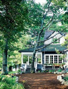i could live in a house like this for the rest of my life and be happy with the people that accompany me.