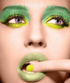 maquiagem para carnaval verde e amarela