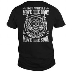 I Love Four Wheels Move The Body T-Shirts