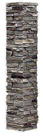 SlateStone Pewter Column