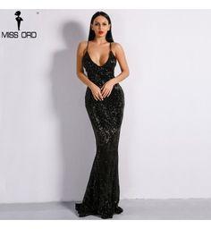 89cd135f8 Vestido Longo Miss Ord Preto Fabulous - Compre Agora | Shopping City - Seu  estilo o que Importa !