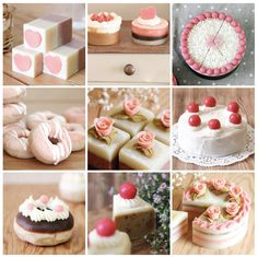 it's not cakes, it's handmade soap!how cute it is!