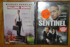 Falling Down & The Sentinel Michael Douglas 2 New DVD Set Sealed in Plastic