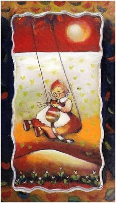 Wild and free, Raija Nokkala - Villi ja vapaa Fat Art, Wild And Free, Funny Art, Cat Lady, Finland, Illustrators, Fairy Tales, Illustration Art, Cute