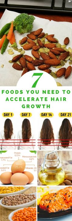 How to maintain a healthy hair fitness inspiration pinterest 7 foods you need to accelerate hair growth your healthy magazine forumfinder Choice Image
