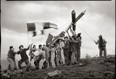 Fiesta de la Cruz. Cuzco, 3 de mayo de 1930.