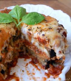 Eggplant parmesan.  LOVE eggplant!