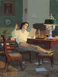 Reading and Art: Dmitri Belyukin