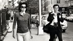 Jacqueline Kennedy Onassis pursued by paparazzo Ron Galella with Nikon F and Nikon F with F36