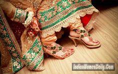 eabc2575cb7 12 Best Indian Bridal Shoes images
