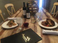 "Introducing ""Dinner In A Villa"" #villa #dinner #wine #Chaumette"