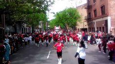 Q-kidz 2012 openning day 2   #majorette #drill #drillteam #qkidz #qkidzdanceteam #qkdt #qkidznation #dance #Cincinnati #ohio #reds #openingdayparade #parade