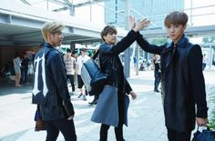 Members ofEXO are lookingdazzling and showing off their flawless teamworkin recent photos taken during a shoot for luxury brand MCM. On August 27, MCM revealed a series of behind-the-scenes shots of themembers, who are currently acting as the spokesmodels for the company's line of high-qua...