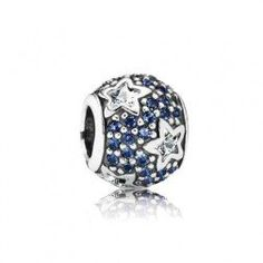 Pandora Silver Midnight Blue Pave Stars Charm-Represent Chase & his journey under many stars after joining the Navy. Pandora Christmas Charms, New Pandora Charms, Pandora Beads, Pandora Bracelet Charms, Pandora Jewelry, Cheap Pandora, Bling Bling, Pandora Collection, Star Jewelry