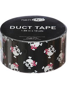 rue21 : DUCT TAPE GIRLY SKULLS (This one I have)