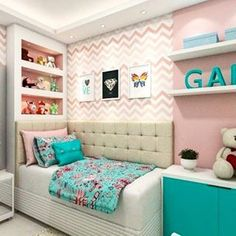 [New] The Best Home Decor (with Pictures) These are the 10 best home decor today. According to home decor experts, the 10 all-time best home decor. Small Room Bedroom, Teen Bedroom, Girl Bedroom Designs, Living Room Designs, Dream Rooms, Dream Bedroom, Teen Room Decor, Bedroom Decor, Cute Teen Rooms
