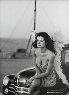 Vogue FR - Cordula Reyer - Le Touquet - May 1989 Photos PETER LINDBERGH