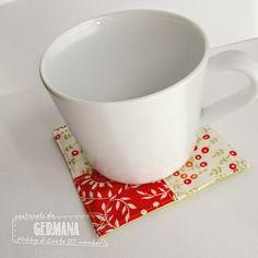 Hobby di Carta - Il blog: Ispirazione cucito: Datemi un Mug Rug!!!!