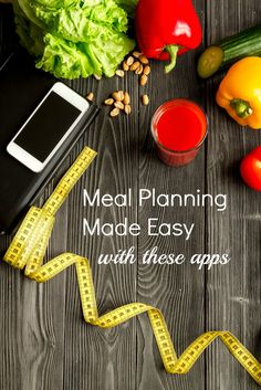 As a busy mom, meal planning is a great way to still make healthy meals daily. There are apps online to help meal plan and make healthy recipes daily without the stress.
