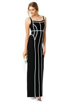 Rent Film Noir Gown by Hervé Léger for $175 - $195 only at Rent the Runway.