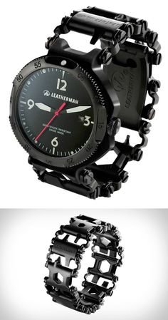 Leatherman Tread Watch With Tool Bracelet