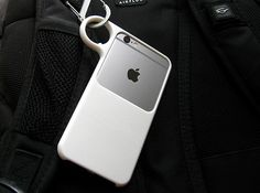 Ring case for iPhone 6, 3d printed, Clip it on, #backpack #hike #adventure
