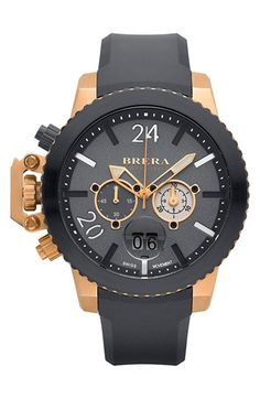 Brera+'Militare+II'+Round+Chronograph+Watch,+48mm+available+at+#Nordstrom