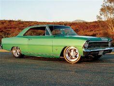 427 powered 1967 Chevy Nova SS #green