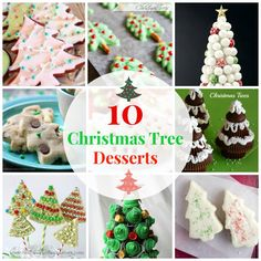 10 Super Sweet Christmas Tree Desserts To Pine Over! via @https://www.pinterest.com/BaknChocolaTess/