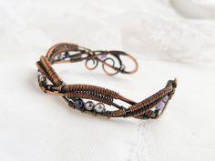 Wire Bracelet  Copper bracelet  Wire jewelry  by UrsulaJewelry, $94.00