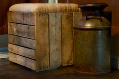 Wooden Corner Seat by TheBootstrap on Etsy, $177.00  I love stff like this...