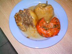 Montignac stuffed bell peppers