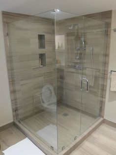 Unique Basement Shower Install