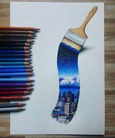 Imagen de art, city, and colors