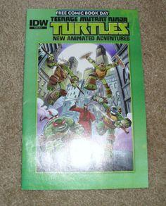 Teenage Mutant Ninja Turtles - Free Comic Book Day
