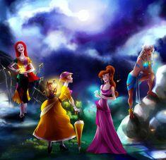 Sally, Jane, Meg, and Kida