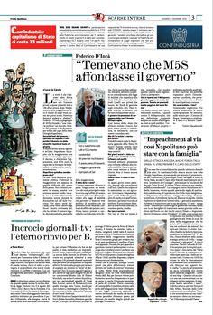 Incrocio Stampa - Tv, ennesimo rinvio per Berlusconi