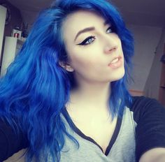 manic panic rockabilly blue - Google Search
