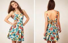 Originales y sencillos vestidos de verano para la mujer de hoy