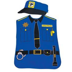 Police Hat Child Individually Priced