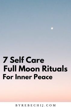 7 Magical Full Moon Rituals that will help you to heal and create magic! Try out these Full Moon Rituals for your inner peace and work with those powerful energies! Full Moon Ritual, Anxiety Tips, Self Discipline, Mindfulness Meditation, Mindful Living, Best Self, Inner Peace, Self Development, Bath Crystals