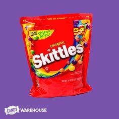 Taste the rainbow! Popular Candy, Rainbow Candy, Fruit Cups, Snack Recipes, Snacks, Taste The Rainbow, Big Bags, Pop Tarts, Chips