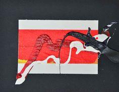 L'arte di Vittorio Amadio: Vittorio Amadio. Tengo e Aomame: il Murakami che dipingo