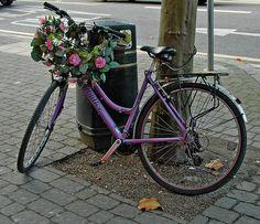 vintage bicycle charm