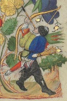 Horae ad usum romanum.  Date d'édition :  1401-1500  Latin 1156B  Folio 89r