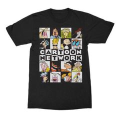 6f37d2531f Cartoon Network Characters Graphic Tee Cartoon Network Characters, Cartoon T  Shirts, Graphic Tees,