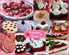 Mommy's Kitchen - Valentines Day Recipe Round Up. #valentinesday