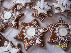 100_7007: New Years Cookies, Crazy Cookies, Christmas Cupcakes, Cupcake Cookies, Christmas Treats, Christmas Baking, Christmas Cookies, Gingerbread House Designs, Gingerbread Decorations
