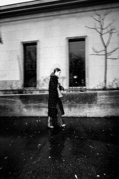 Ursina Gysi, alone